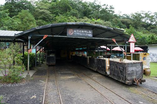 真‧台灣煤礦博物館, 右邊的是剛才坐的小火車「獨眼小僧」