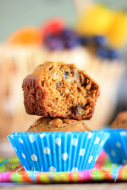 Date and Walnut Muffin