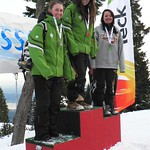 Enquist-Women's winners for day two