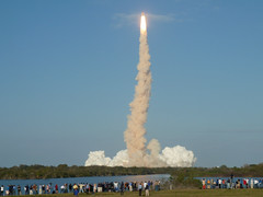 Space Shuttle Discovery STS-133 Launch