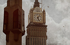 Clock Tower (Raeid Allehyani) Tags: tower clock islam mecca  allah burj makkah      alsa3ah