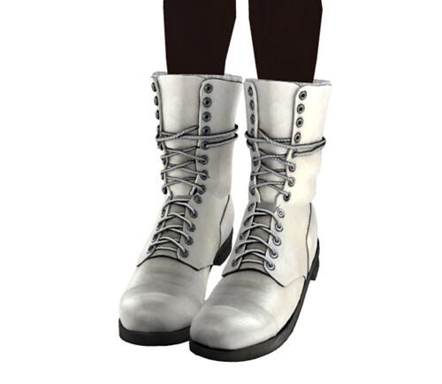 *DECO - Trail Boots - White*