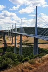 Sky Bridge (Sparhawk42) Tags: cloud france nikon engineering viaduct civil millau d90 francemillauparis