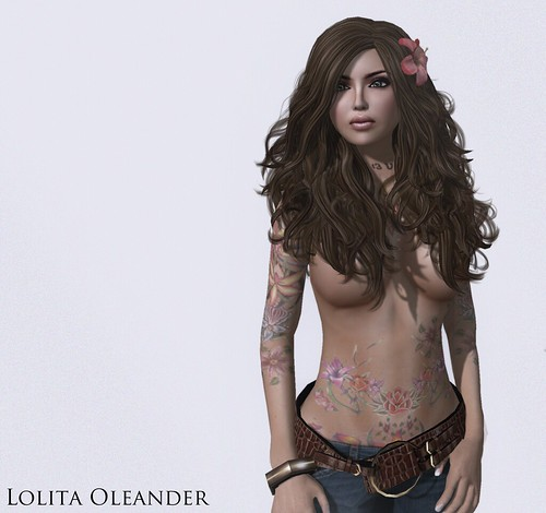 Lolita Oleander- The Tattoo Project 2011