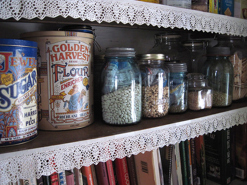 Jars In Cupboard