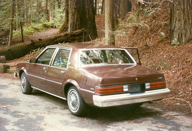geotagged 1984 humboldtredwoodsstatepark buickskylark pentaxsp1000 smctakumar55mmƒ2