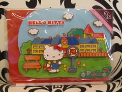Hello Kitty Greeting Card - Good Luck (Suki Melody) Tags: bus cat hellokitty sanrio collection stop card kawaii envelope greeting