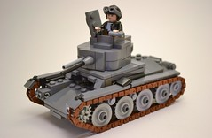 Panzer 38(t) Ausf. A (. soop) Tags: lego mr german ww2 panzer soop 38t