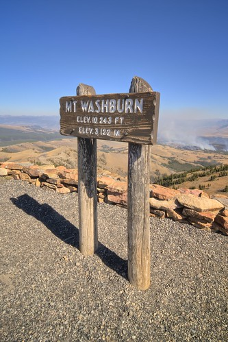 The Top of Mount Washburn