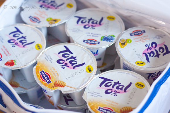 TOTAL 0% Greek Yoghurt Split Pots 4