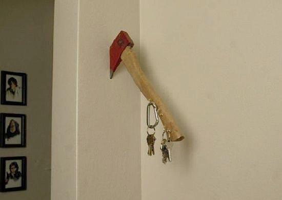 The redneck key holder