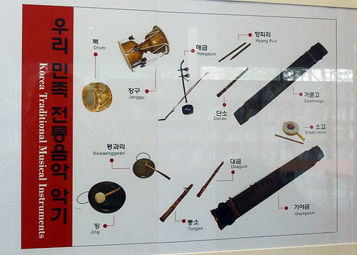 Korean traditional musical instruments