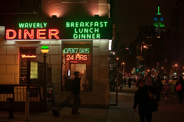 59/365 - Waverly Restaurant, Sixth Avenue at Waverly, West Village.