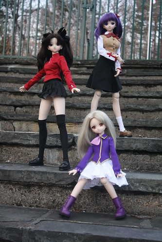 60/365- Illya, Rin and Sakura DD