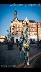 welcome to kpenick (Tafelzwerk) Tags: horse berlin germany deutschland nikon filter altstadt pferd kpenick polfilter d3000 nikond3000 tafelzwerk tafelzwerkde