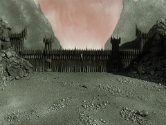 The Gates of Sauron (Mtys Gbor) Tags: miniature lordoftherings sauron mordor morannon theblackgate gyrkura thelandosshadow