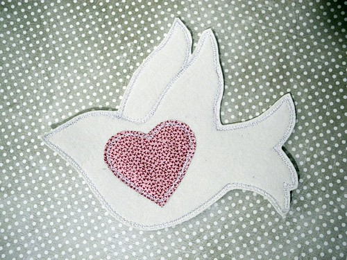 Love Dove I won in OWOH