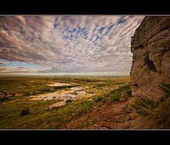 Paint Mines Overlook (RondaKimbrow) Tags: longexposure nature clouds landscape colorado scenic summertime holeintheground paintmines calhan nd110 pullfolio