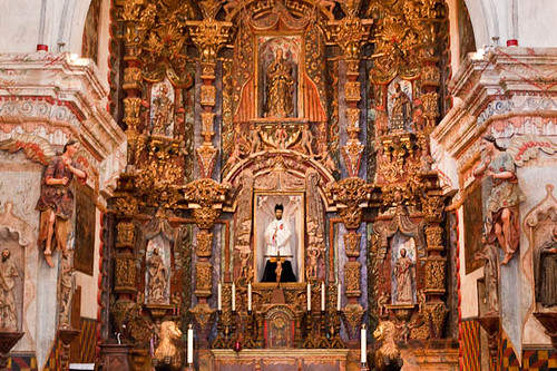 Sacristy,  Mission San Xavier del Bac