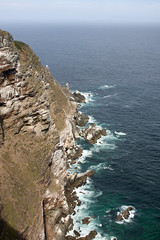 Cliffs at Cape Point (Don McDougall) Tags: africa cliff rock danger landscape southafrica landscapes nationalpark dangerous rocks view rocky capetown cliffs cape viewpoint capepoint touristattraction attraction mcdougall donmcdougall