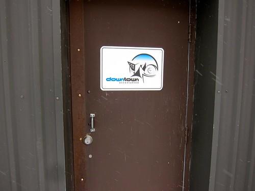 Downtown Association back door