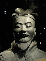 Terracotta Face (TinaOo) Tags: face soldier general terracotta determined decided