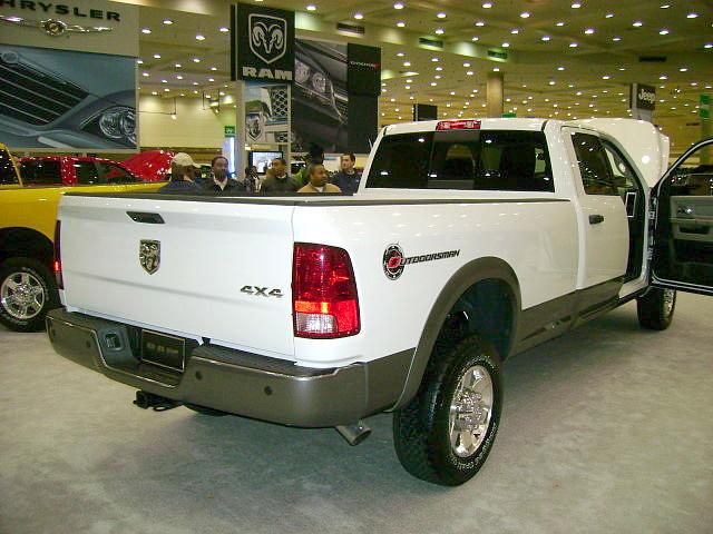truck 4x4 pickup mopar ram carshow baltimoremd baltimoreconventioncenter 2011 ram2500 outdoorsman quadcab motortrendinternationalautoshow