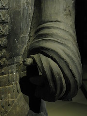 The General's Hand (TinaOo) Tags: soldier hand general terracotta