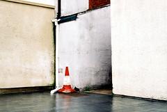 Tudor Square (Delay Tactics) Tags: film corner entropy square nikon cone sheffield pipe tudor pylon explore f2 walls 758xxxx