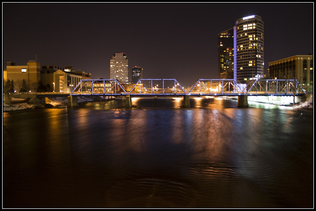 Grand Rapids @ Night