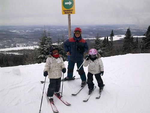 Avec Odile en ski by ngoldapple