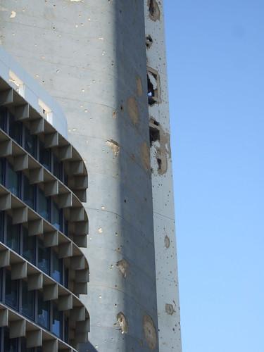 Holiday Inn - Evidence of Civil War