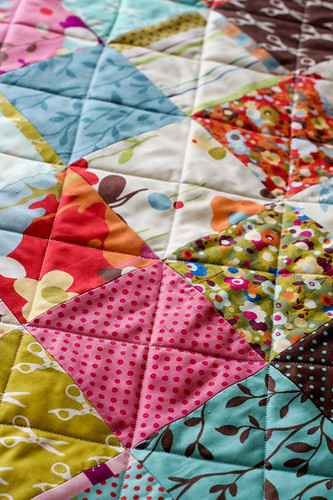 Patchwork Kitchen Mat Tutorial - In Color Order