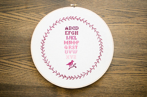 Karyn's Cross Stitch Sampler