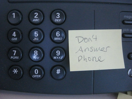 Don't Answer Phone