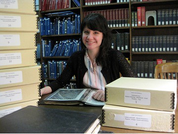 Stephanie Romano, The Cooper-Hewitt National Design Museum Library Intern