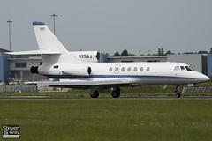 N25SJ - 186 - Private - Dassault Falcon 50 - Luton - 100526 - Steven Gray - IMG_2770