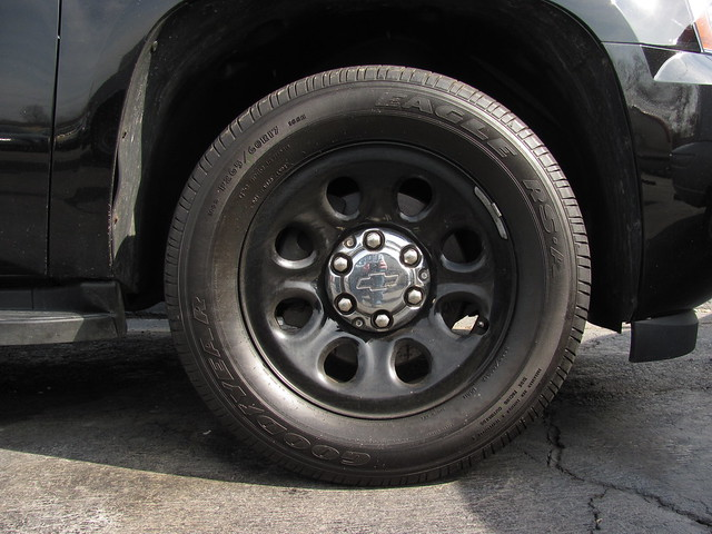 black chevrolet wheel policecar suv 2007 ppv chevytahoe policepatrolvehicle