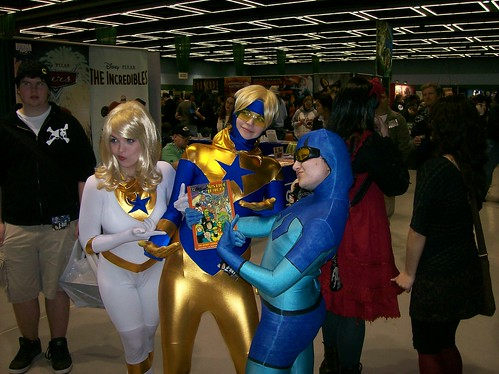 Goldstar, Booster Gold, Blue Beetle