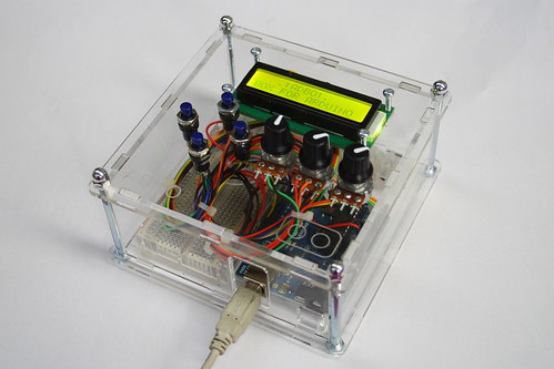 ADBO - Project Box for Arduino (laser cut)