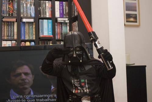Star Wars meet Pulp Fiction