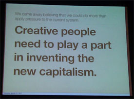 slide from Alex Bogusky's presentation