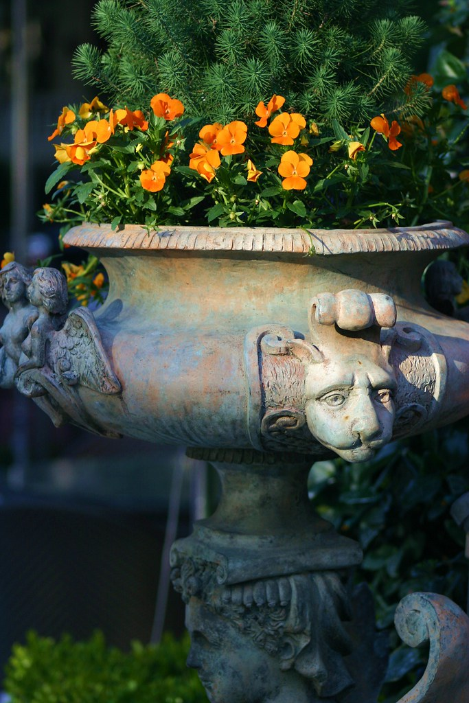 Antique Flower Pot