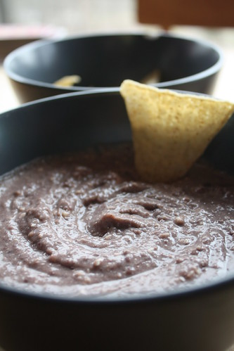 Garlicky Feta and Black Bean Dip