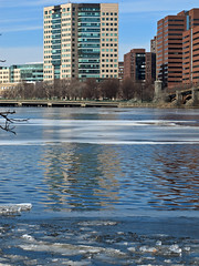 Solid and Liquid Reflections (Boneil Photography) Tags: boston canon reflections ma charlesriver powershot g11 boneilphotography brendanoneil