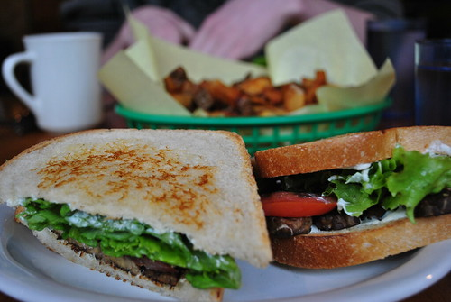BLT With Fakin' Bacon at Vita!