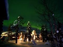 Northern Lights (timo_w2s) Tags: winter snow night finland lapland kuusamo northernlights auroraborealis ruka revontulet