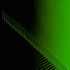 Lucky Steps. (FlipMode79) Tags: abstract color green lines stairs photography shadows dcist stpatricksday stpattysday saintpatricksday hss hcs blinkagain flipmode79