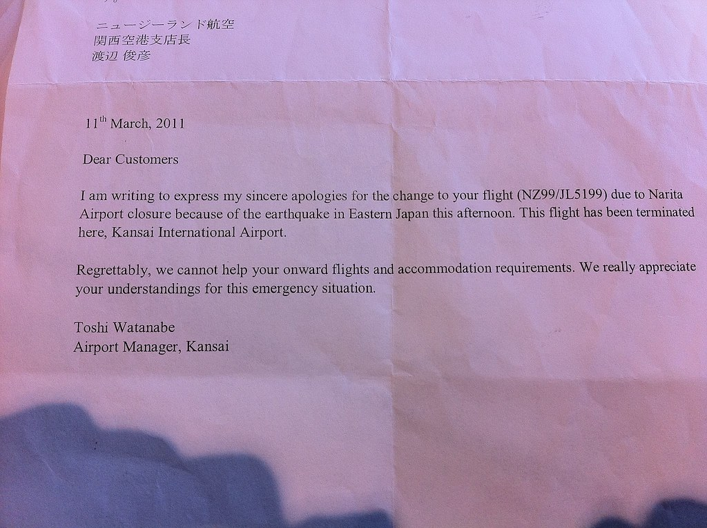 Air New Zealand abandon their customers