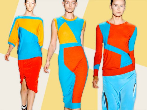 colour blocking prabal gurung 2011